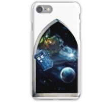 Whovian window :)  iPhone Case/Skin
