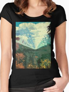 Innerspeaker Women's Fitted Scoop T-Shirt