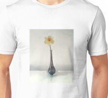 Still LIfe Daffodil in Glass Vase Unisex T-Shirt
