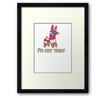 I'd Hit That Pinata Framed Print