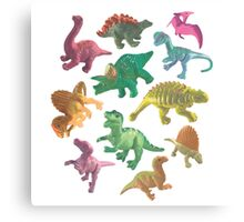 Dino Buddies Canvas Print
