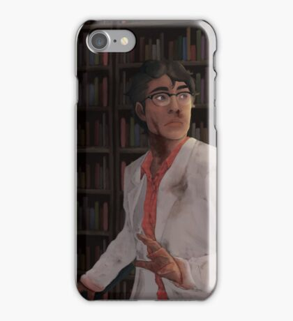 WTNV - Carlos and the Library iPhone Case/Skin