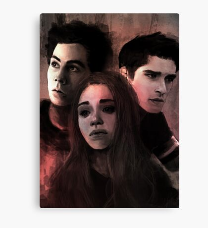 Teen Wolf Poster Canvas Print