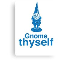 Gnome Thyself Canvas Print
