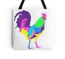 Psychedelic Chicken Tote Bag