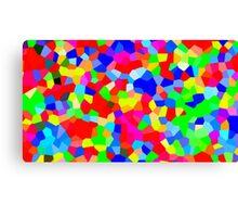 Rainbow Crystals Canvas Print