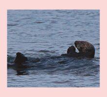 Praying Sea Otter Kids Tee