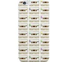 Retro Cassette Tape Print iPhone Case/Skin