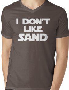 I Don't Like Sand Mens V-Neck T-Shirt