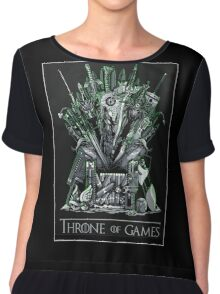 Throne of games Chiffon Top
