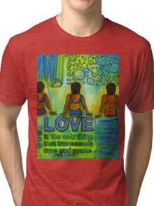 Three on the Beach Tri-blend T-Shirt