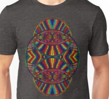 Psychedelic Abstract colourful work 257 Crest Unisex T-Shirt