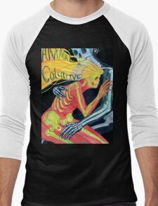 Animal Collective Skeletons Men's Baseball ¾ T-Shirt