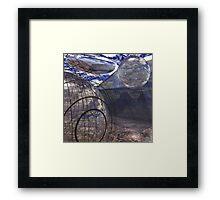 Alien Landscape #2 Framed Print