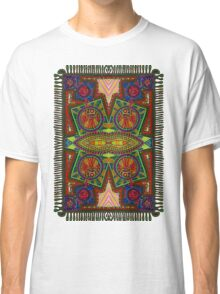 Psychedelic Abstract colourful work 227Big Crest Classic T-Shirt
