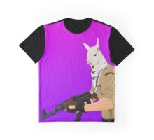 Llamas can spit fire! Graphic T-Shirt
