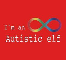 Autistic Elf Kids Tee