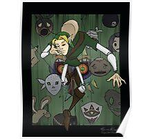 Majora's Masked Puppet Poster
