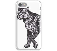 Graphic Cheetah iPhone Case/Skin