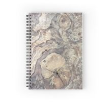 Wood Grain Spiral Notebook