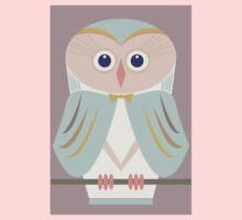HOODED OWL Baby Tee