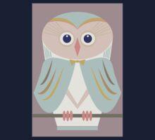 HOODED OWL Kids Tee