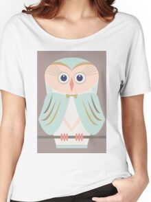 HOODED OWL Women's Relaxed Fit T-Shirt
