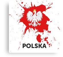Polska Canvas Print