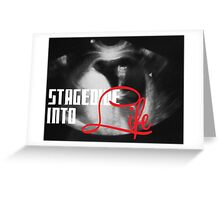Stagedive into Life Greeting Card