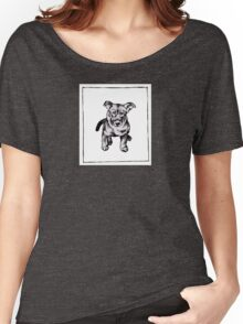Graphic Pup Women's Relaxed Fit T-Shirt