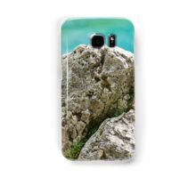 natural rocks on the shore of lake Samsung Galaxy Case/Skin