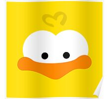 Duckie Face Poster