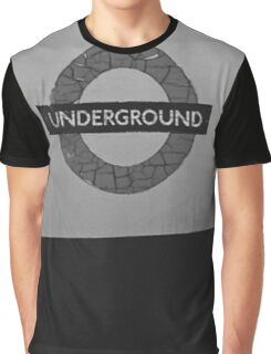 underground Graphic T-Shirt