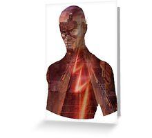 Flash - Barry Greeting Card