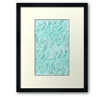 Adorable blue Framed Print