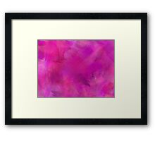 Purple Pink Blue Watercolor Paper Texture Background Framed Print