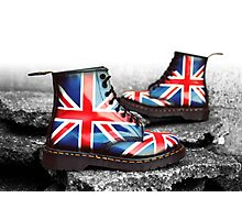 Union Jack Custom Dr. Martens Photographic Print