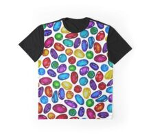 Rainbow Gemstone pattern  Graphic T-Shirt