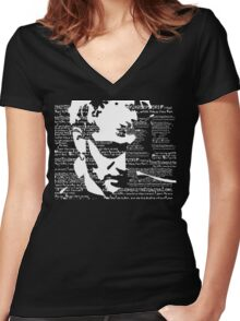 Layne Staley 'Junkhead' tee Women's Fitted V-Neck T-Shirt