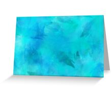 Purple Aqua Teal Turquoise Blue Watercolor Paper Texture Background Greeting Card