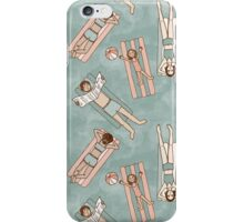 Floating in the Pool iPhone Case/Skin