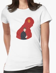 The Flash - Minimalist Womens Fitted T-Shirt