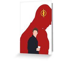 The Flash - Minimalist Greeting Card