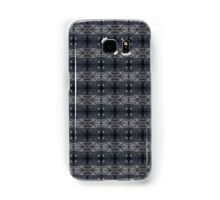 peaceful snowy night chalkboard scene pattern Samsung Galaxy Case/Skin