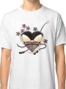 BLACK PANTIES on White Classic T-Shirt