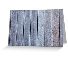 Weathered Wood Background Whitewashed Old Wooden Texture Pattern Greeting Card