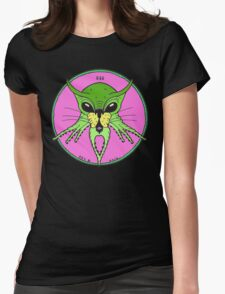 CATHULHU IN GREEN Womens Fitted T-Shirt