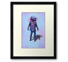 The Walking Tapes Framed Print