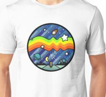 Biker in the universe Unisex T-Shirt