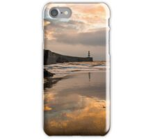Harbour Sunrise - Seaham, Durham iPhone Case/Skin